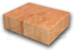 kloce drewniane